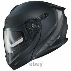 Scorpion Exo Gt920 Modular Helmet Unit Matte Black / Dark Grey Choisir Taille