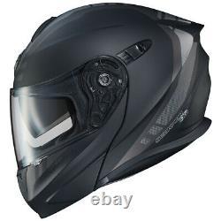 Scorpion Exo Gt920 Unit Modular Helmet Matte Black / Dark Grey Small