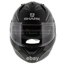 Shark Evo Es Yari Matt Black Grey, Casque De Moto, Navire Rapide Et Libre, 2020