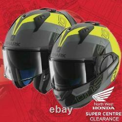 Shark Evo One One 2 Modular Motorcycle Helmet Slasher Ayk M