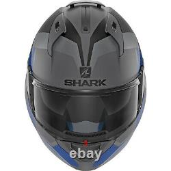 Shark Evo-one 2 Slasher Casque Modulaire Gris/noir/bleu