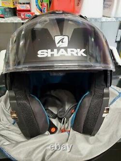 Shark Evo-one 2 Slasher Casque Modulaire Noir/gris/blanc