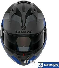 Shark Evo-one 2 Slasher Modular Flip-up Helmet -matte Dark Grey/black -x-large