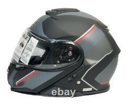 Shoei Excursion Neotec II X-large Black/grey/red Trim Casque De Moto Nouveau