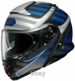 Shoei Neotec II Splicer Modular Helmet Motorcycle Street Bike