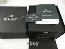 Tag Heuer Connected Modular 41 Titanium Sbf818000.11ft8031 Boîte / Papiers Caoutchouc